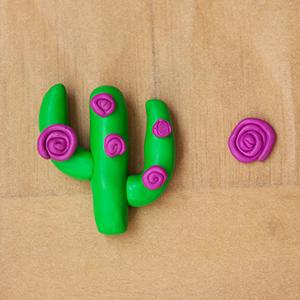 DIY Fimo Schmuckschachtel mit Kaktus machen