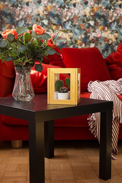 DIY Terrarium Bilderrahmen Ikea Hack Inspiration