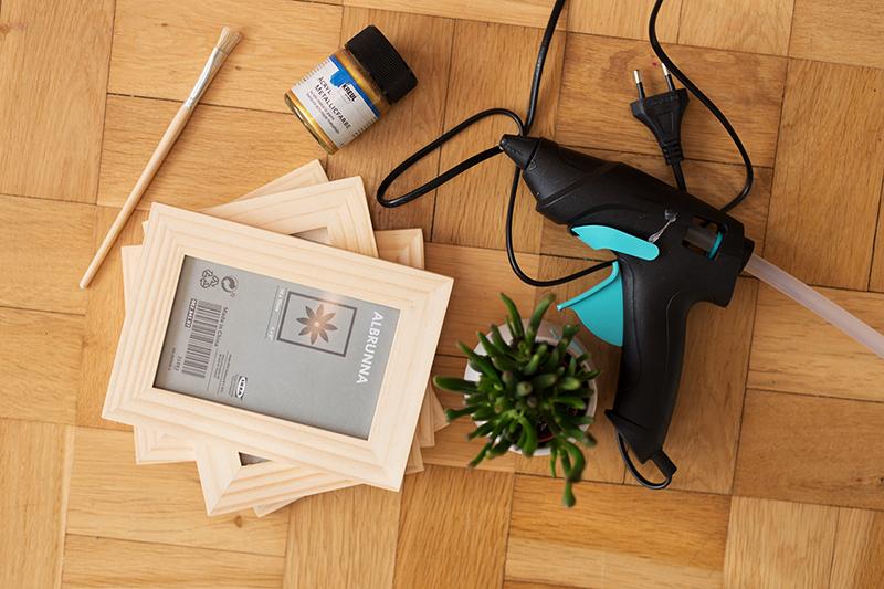 DIY Terrarium picture frame Ikea Hack Products