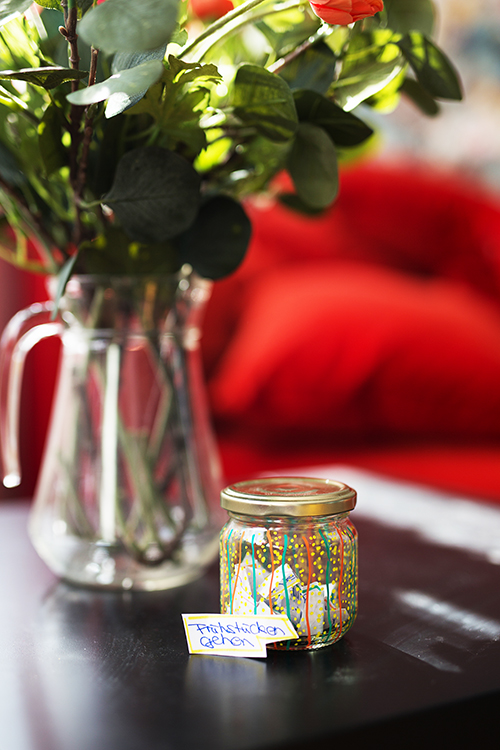 DIY Wunsch Glas Upcycling Hack