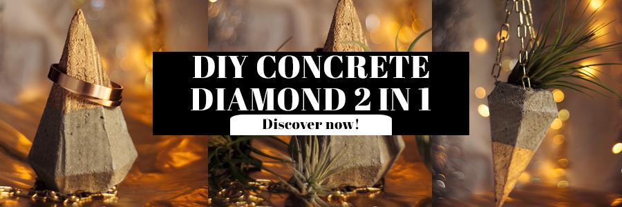 Diy Concrete Diamond