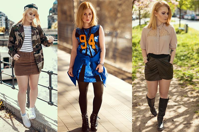 Frühlingsoutfits für Damen unterschiedliche Looks