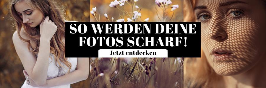 So werden Deine Fotos scharf Tipps Fotografie