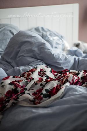 Bettlaken swirly Bokeh