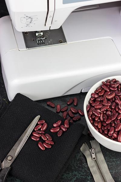 DIY Bohnensack Stativ Beanbag Tutorial