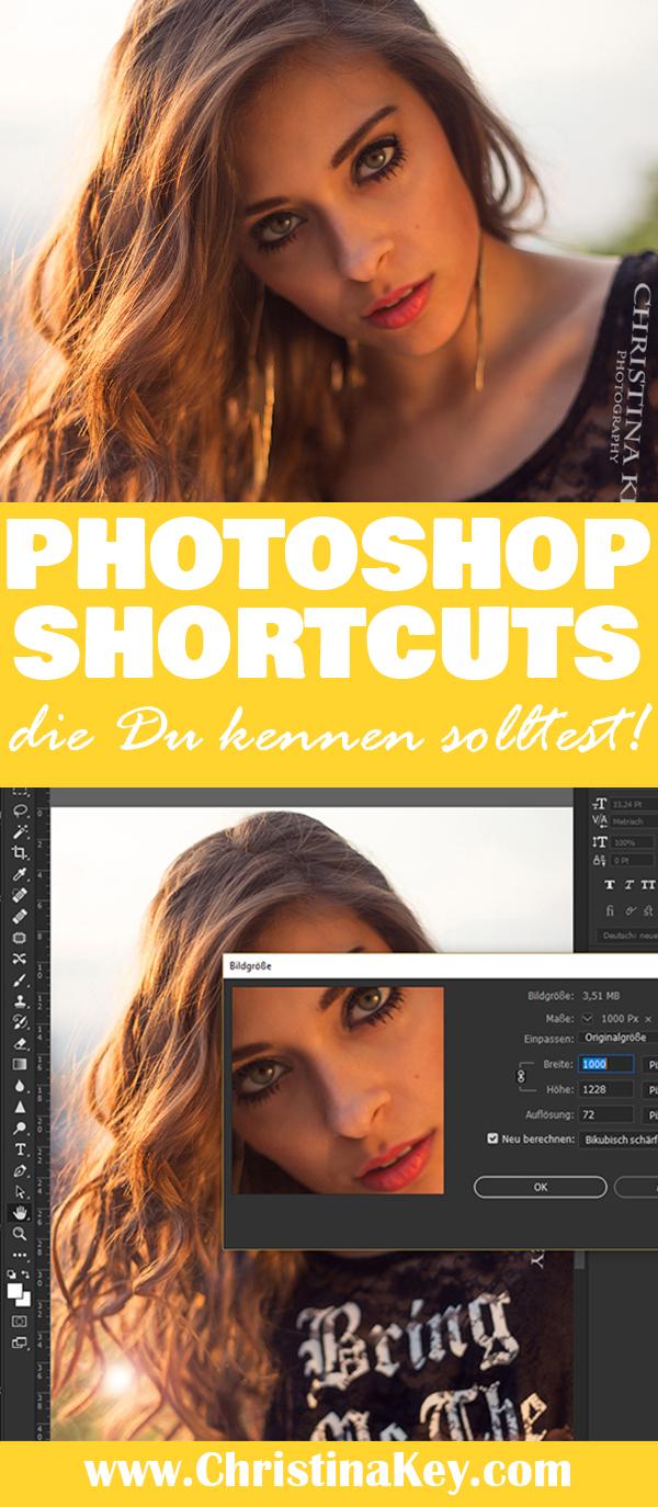 Die wichtigsten Shortcuts in Photoshop Fotografie Tipps