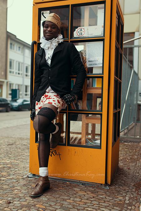 Foto Locations Freiburg Gelbe Telefonzelle