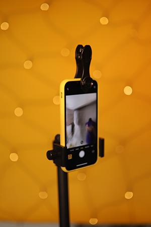 Fotos alleine machen Tipps Smartphone Objektive