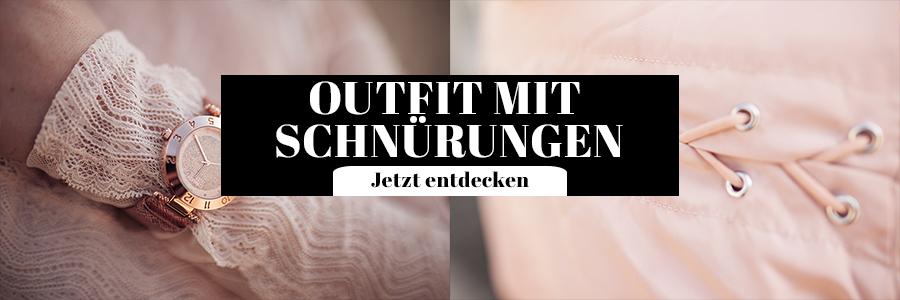 Outfit mit Schnürungen Damen