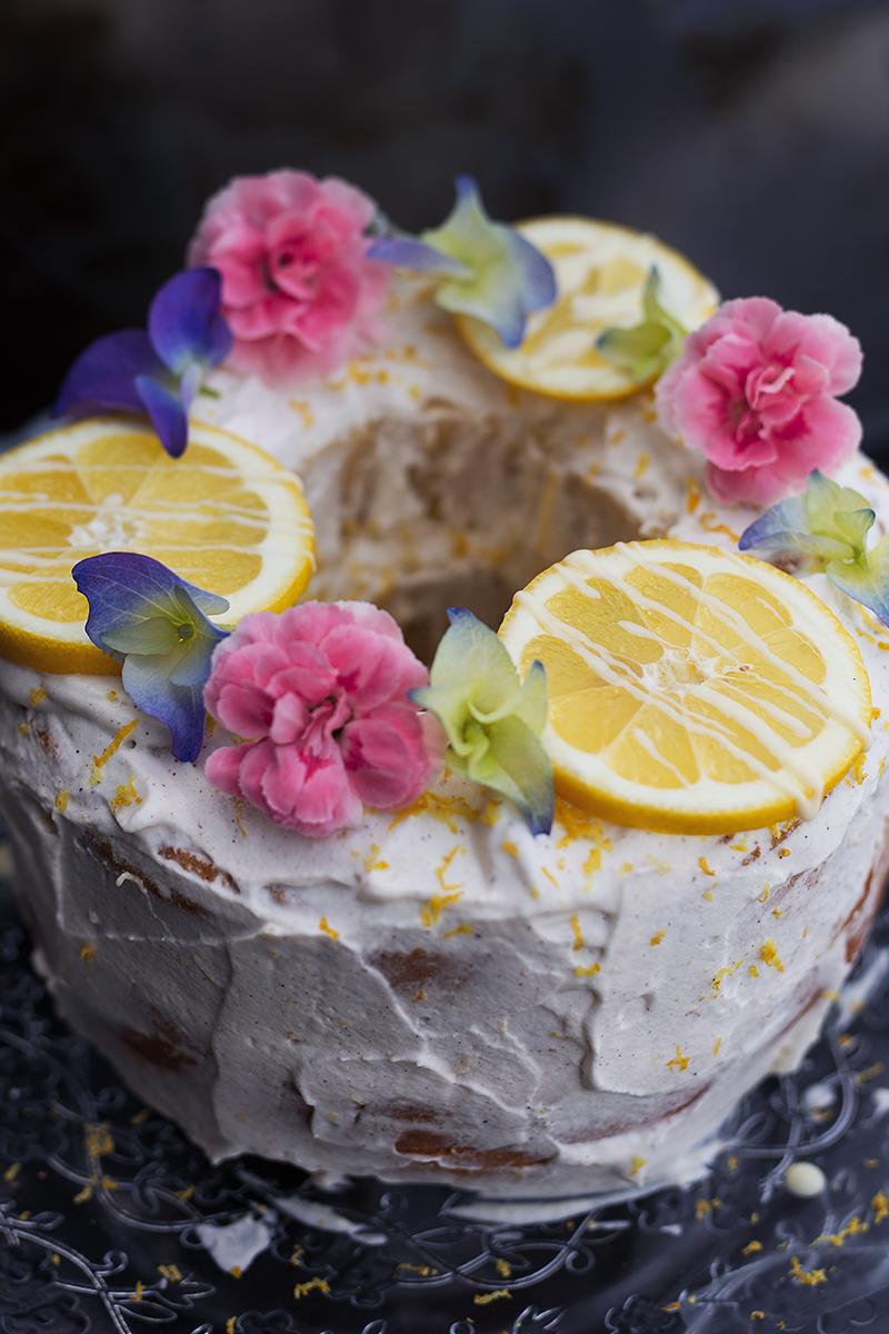 Saftiger Zitronen Kuchen mit Sinalco Extra