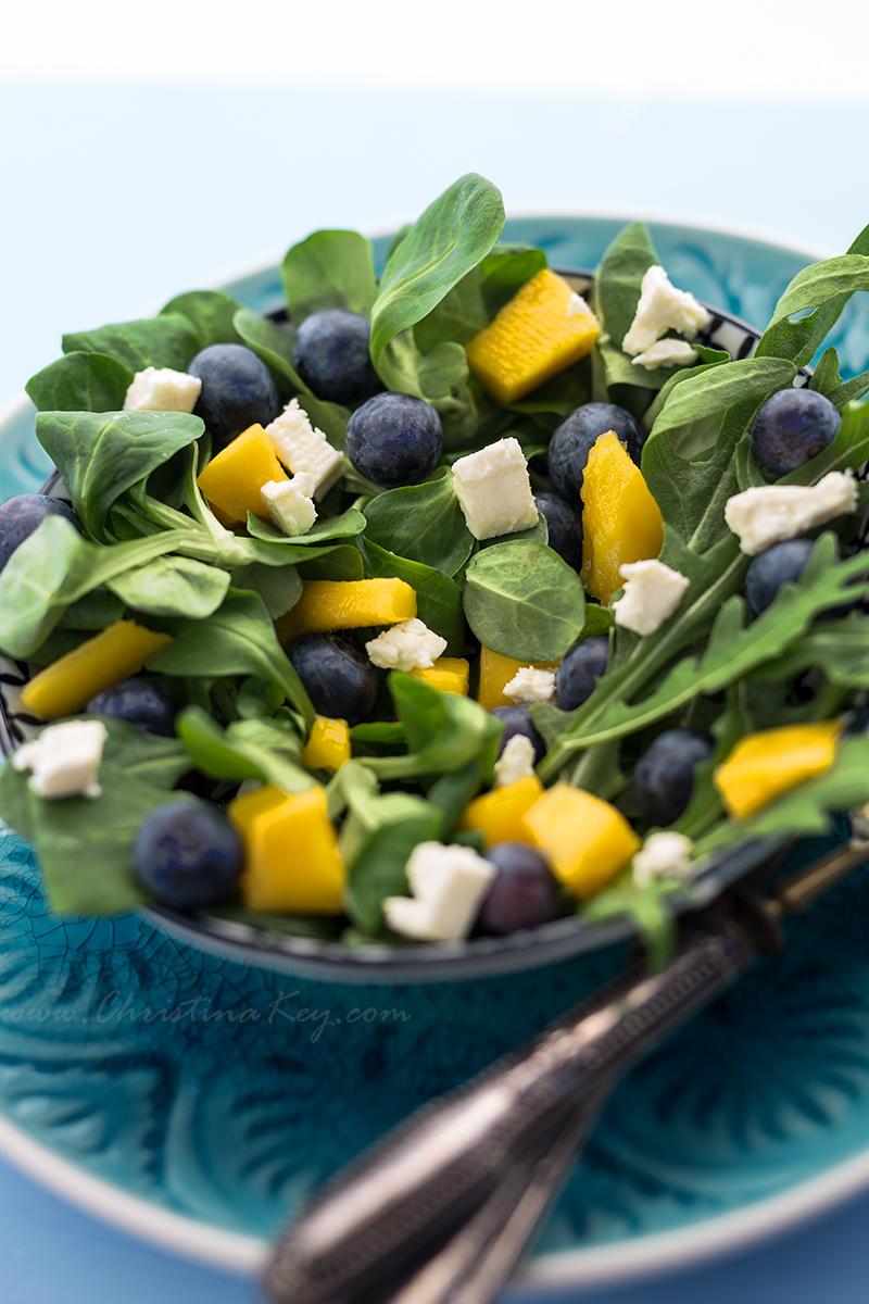 Sommer Salat mit Mango Rezept