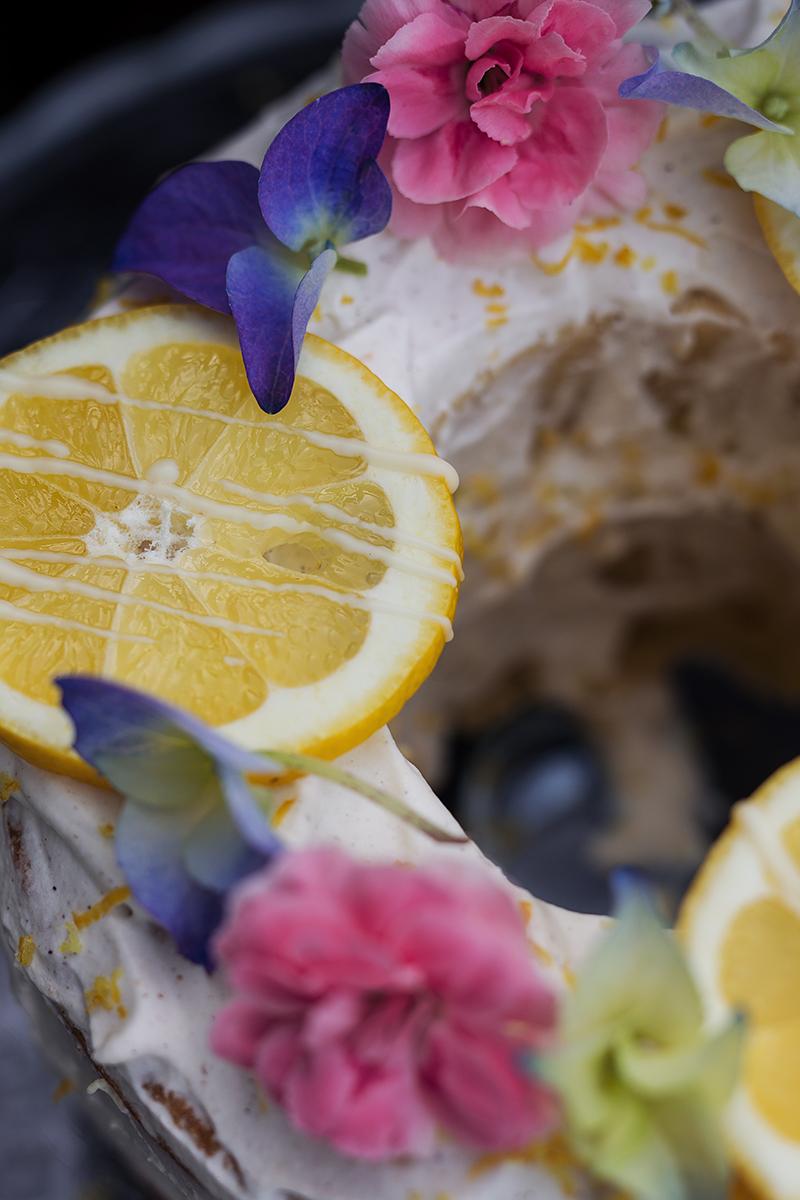 Zitronen Kuchen Rezept mit Sinalco Extra