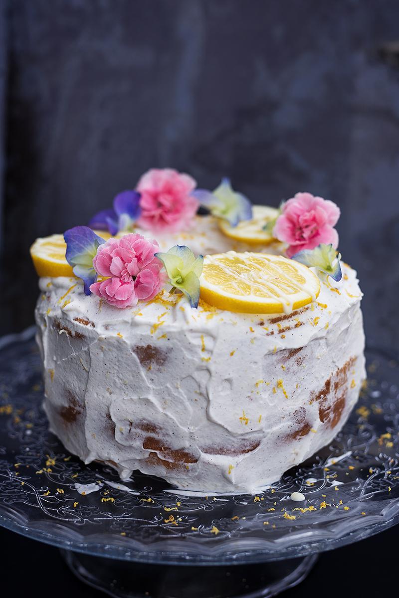 Zitronen Kuchen mit Sinalco Extra