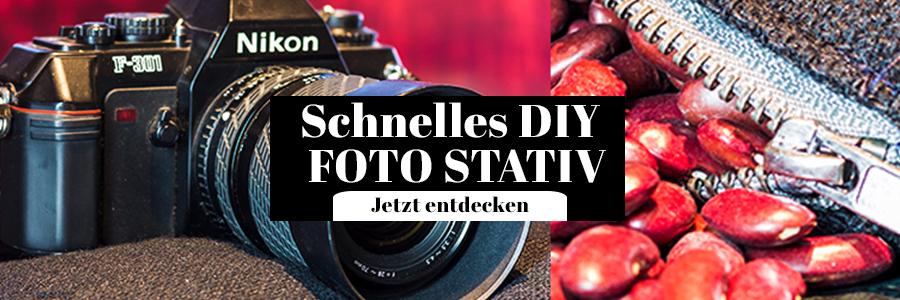 DIY Foto Stativ Beanbag