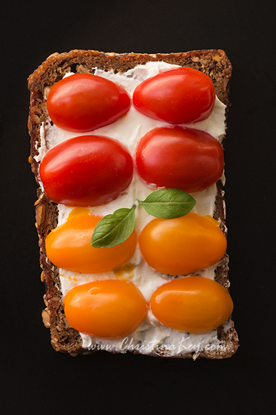 Low Carb Schnitte Grillgemüse Tomate