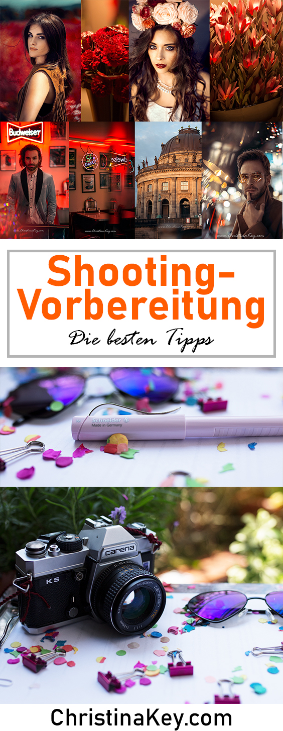 Vorbereitung Fotoshooting Tipps