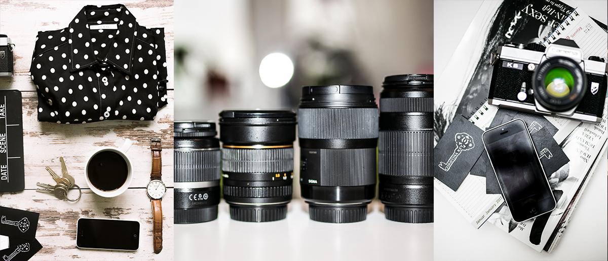 Vorbereitung Fotoshooting mit Schneider Base Kamera Equipment