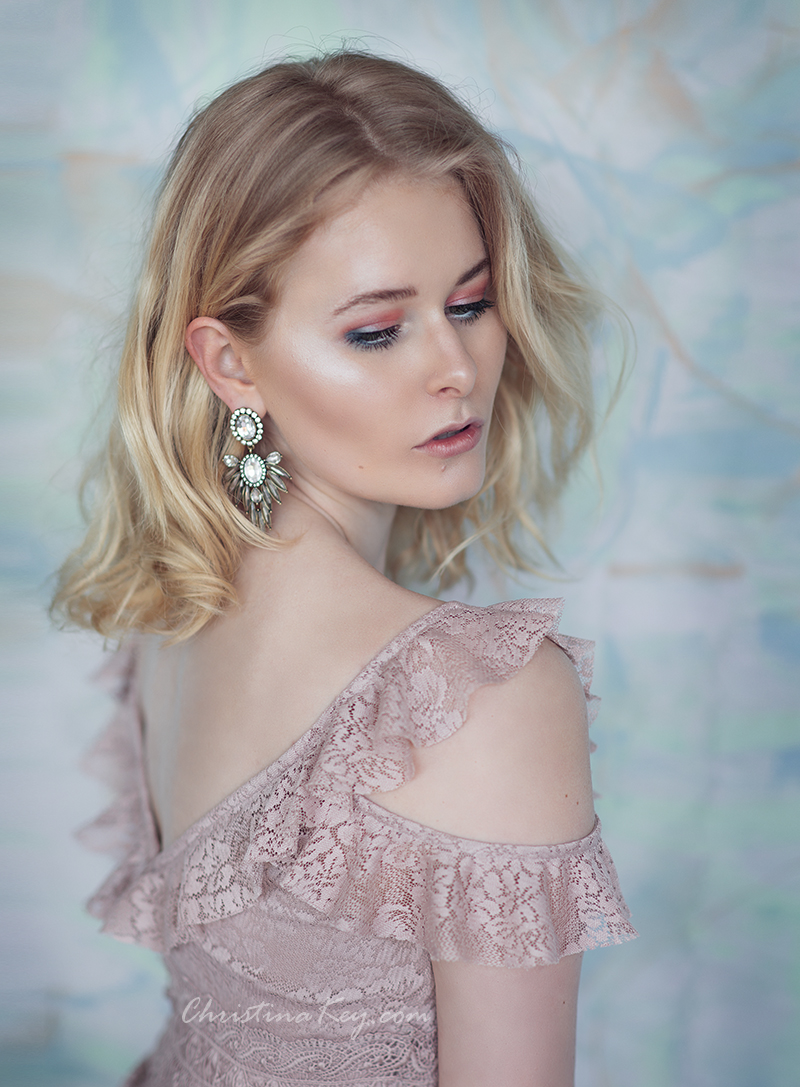 Zartes Frühlings Make Up mit Malu Wilz Portrait