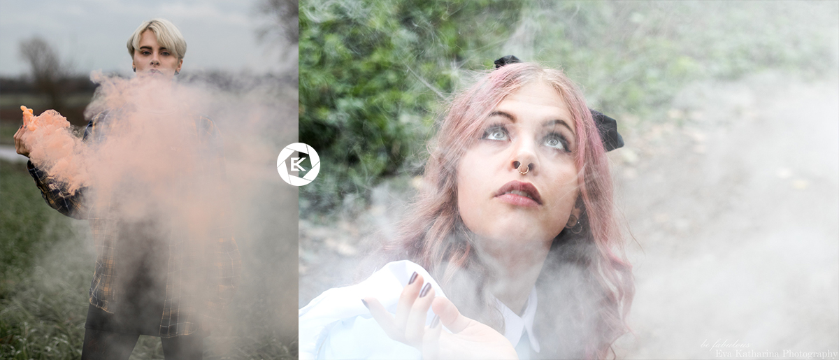 Coole Requisiten für Fotoshootings Rauchpatronen
