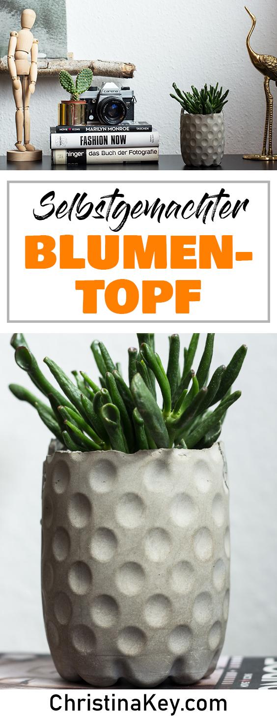DIY Blumentopf