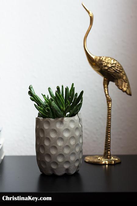 DIY Blumentopf Ideen Wohnen