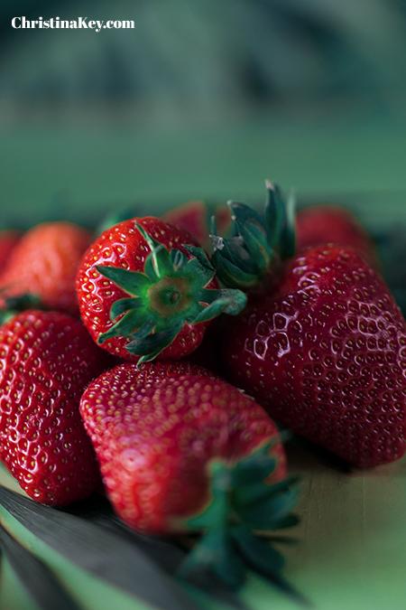 Erdbeermilch selber machen Erdbeeren