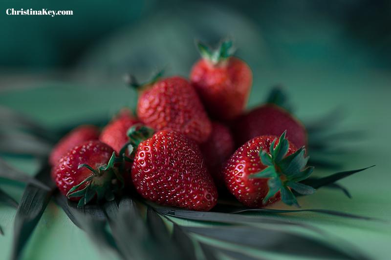 Erdbeermilch selber machen Foto