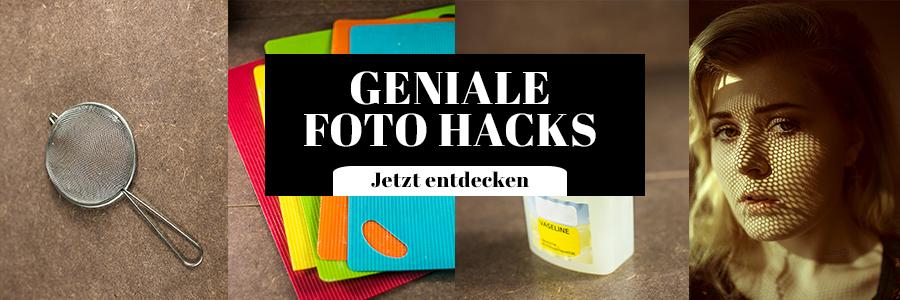 Foto Hacks Low Budget Tipps
