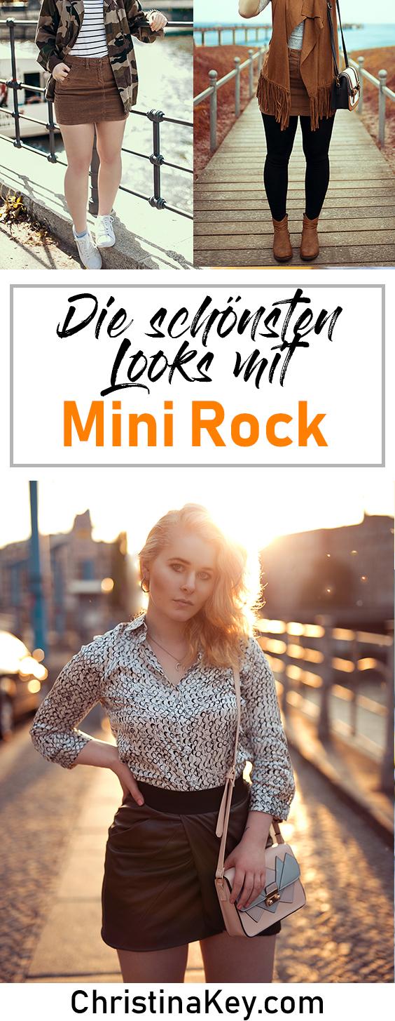 Minirock Outfits für Damen
