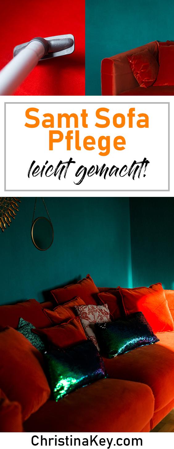 Samt Sofa Pflege Tipps Anleitung