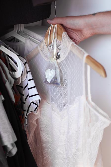 DIY Lavendel Säckchen Kleiderschrank