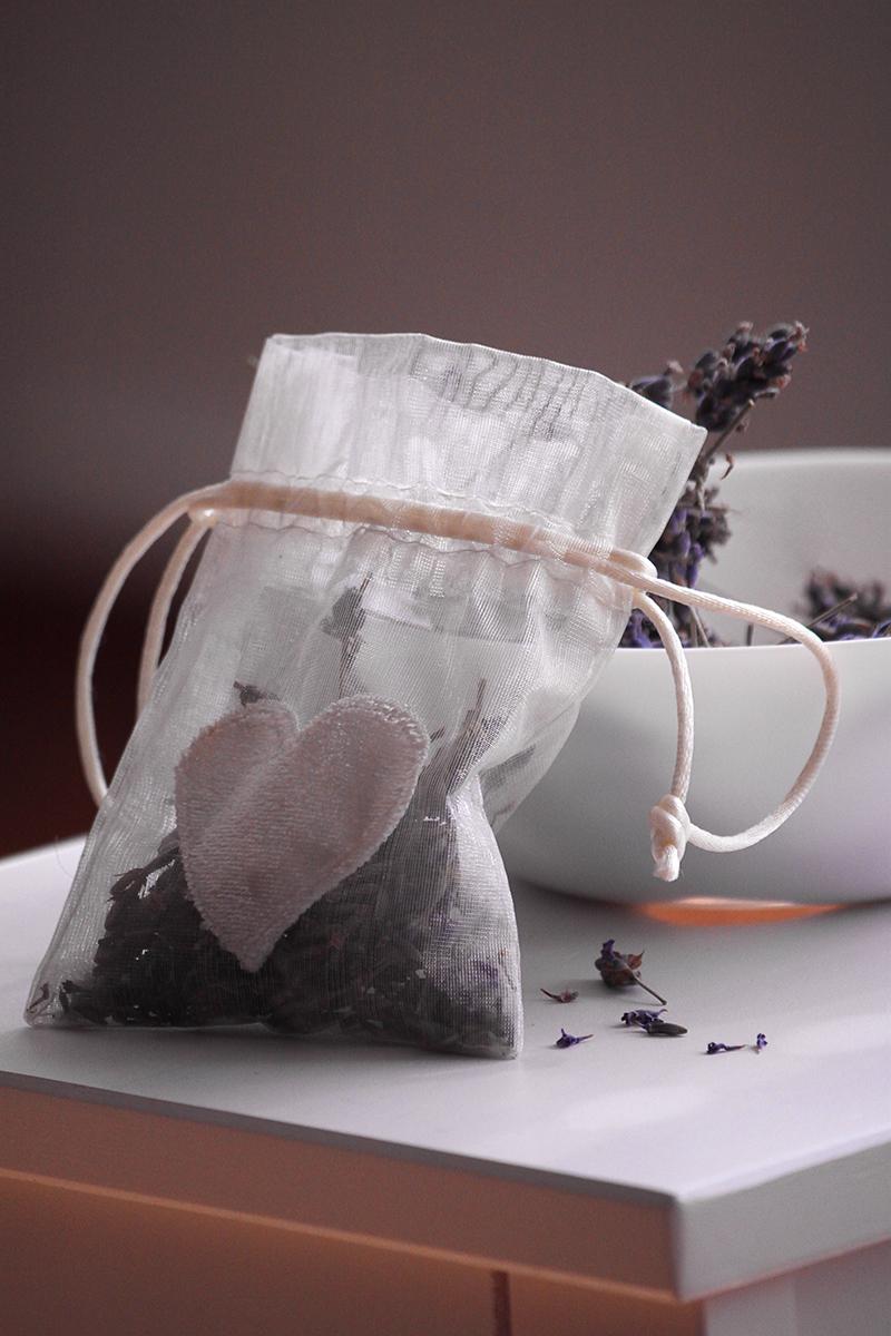 DIY Lavendel Säckchen für Kleiderschrank