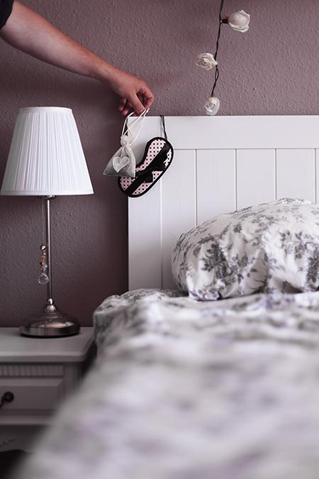 DIY Lavendel Säckchen im Schlafzimmer
