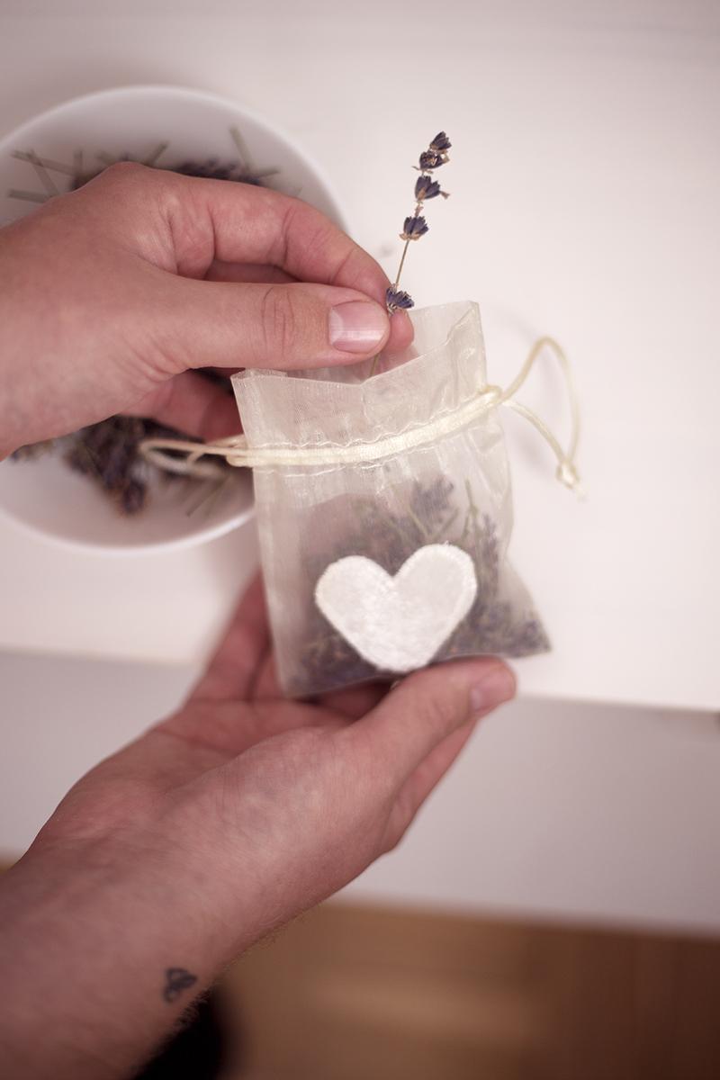 DIY Lavendel Säckchen