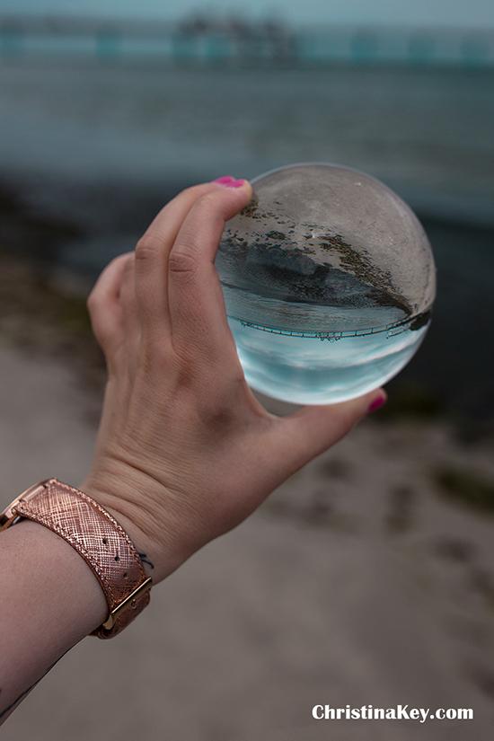 Glaskugel Fotografie Beispiele