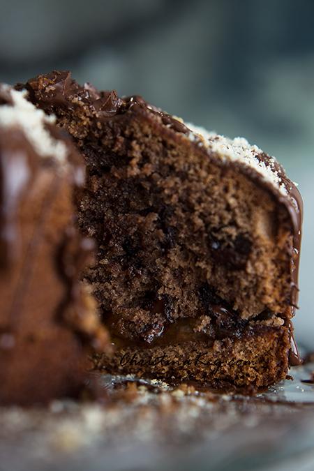 Nusskuchen Rezept mit Schokolade