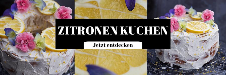 Zitronen Kuchen Rezept Food Fotografie