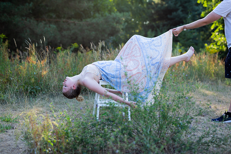 Levitation Making Of Fotoshooting