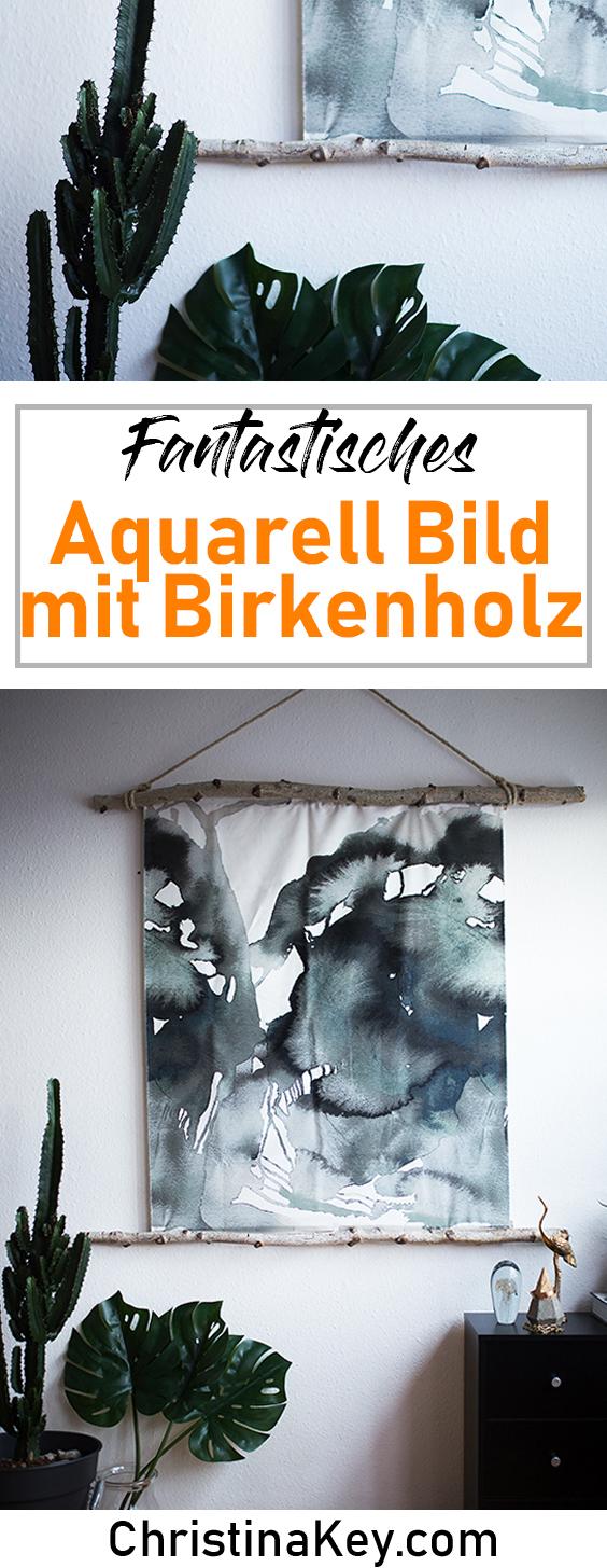 DIY Ideen Zuhause DIY Aquarell Bild