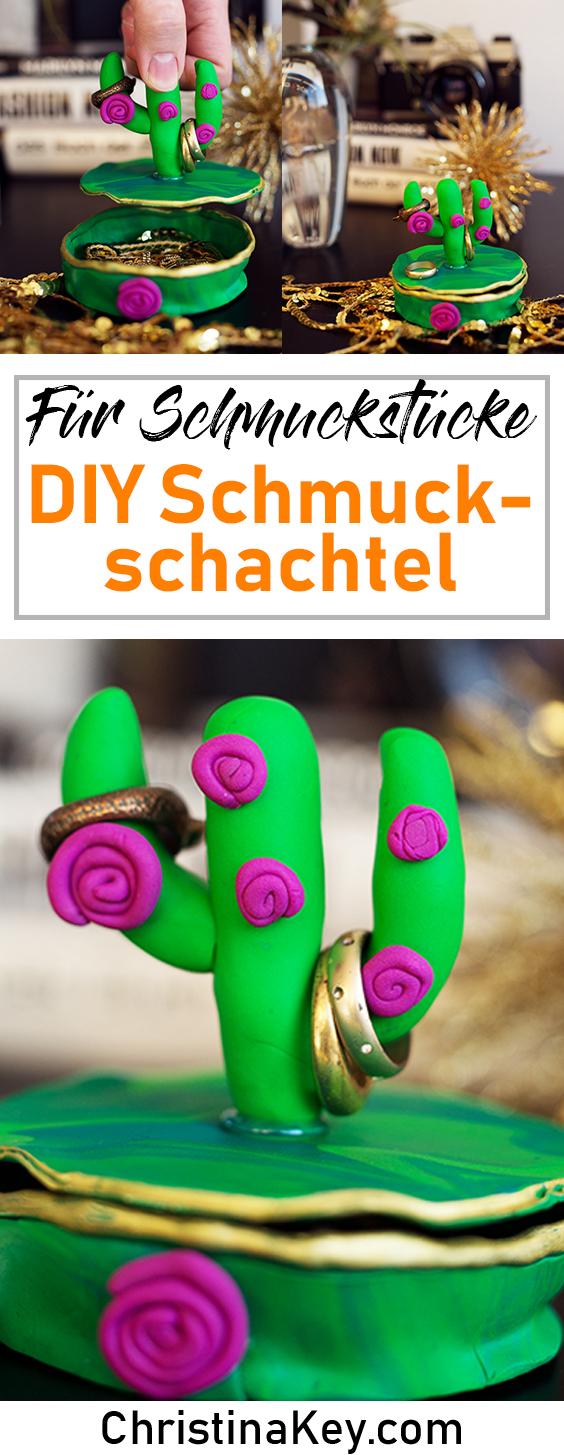 DIY Ideen Zuhause DIY Fimo Schmuckschachtel