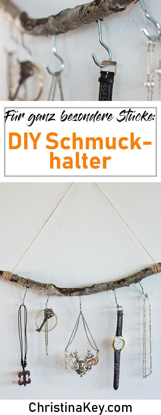 DIY Ideen Zuhause DIY Schmuckhalter