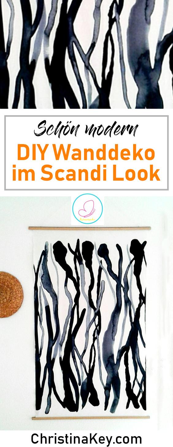 DIY Ideen Zuhause Wand Deko Bild