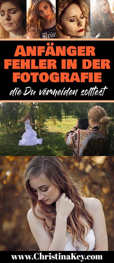 Anfänger Fehler in der Fotografie