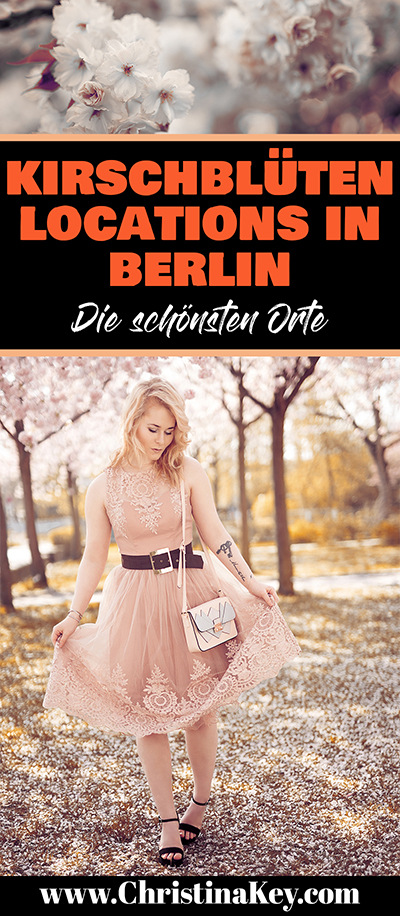 Berlin Location mit Kirschblüten