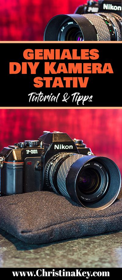 DIY Kamera Stativ Bean Bag