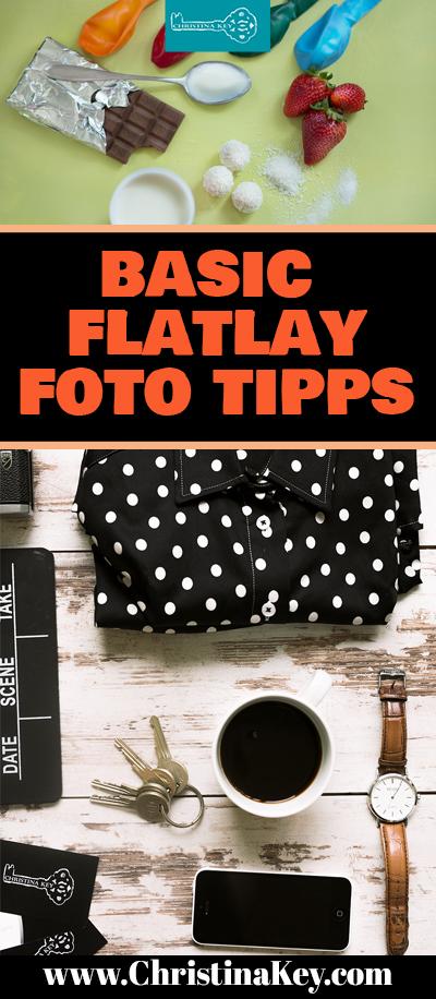 Flatlays Fotografie Tipps