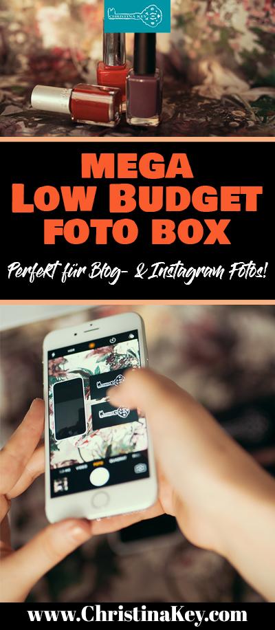 Foto Box DIY Low Budget Fotografie Hack
