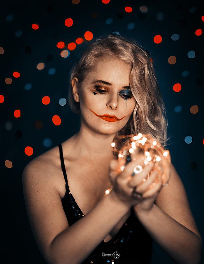 Halloween Fotoshooting Idee