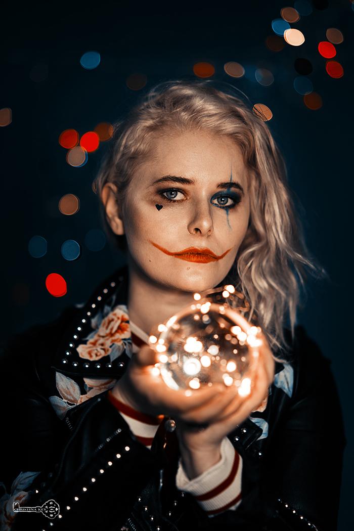 Halloween Fotoshooting Selbstportrait