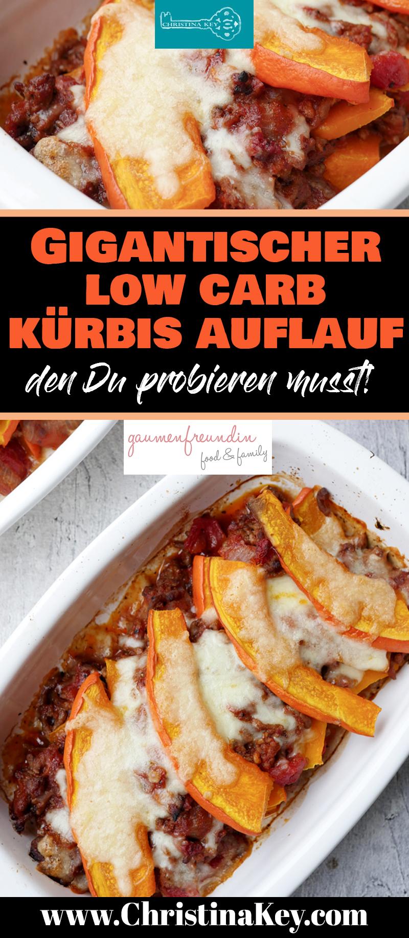 Kürbis Rezepte Low Carb Auflauf